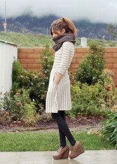 winterizing summer dresses
