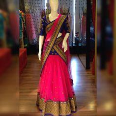 I want to buy this lengha Half Saree Lehenga, Lehnga Dress, Indian Lehenga, Indian Gowns, Indian Attire, Red Lehenga, Indian Outfits, Indian Ethnic Wear, Lehenga Dupatta