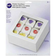 "Wilton Window Treat Boxes, 4"" x 8"", Packaged"