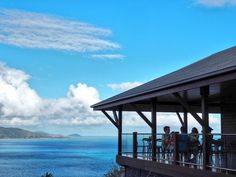 One the edge at One Tree Hill Bar Hamilton Island