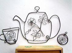 """""""čajová súprava"""" / astra - SAShE.sk - Handmade Dekorácie"""