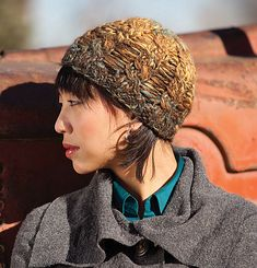 From Spin + Knit 2016 - Chutes and Ladders Hat - Kristi Schueler Knit Hat For Men, Hats For Men, Baby Hat Patterns, Knitting Patterns, Baby Hats, Knitting Projects, Hand Knitting, Knitted Hats, Pattern Design