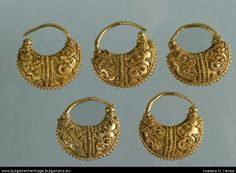 Thracian gold 4th cent.Bulgaria