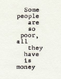 I know some people like this... The only thing happy they have in their life is possesions, so sad.