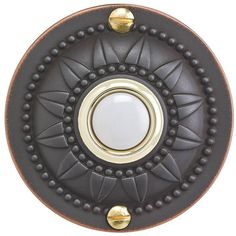Wired Round Door Bell
