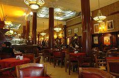 Cafe Tortoni - a must in BA!  The cinnamon ice cream thingy is sooooo good.