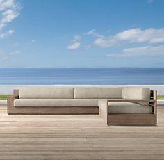 Marbella Collection- Weathered Grey Teak (Outdoor Furniture CG) | Restoration Hardware