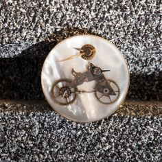 Steampunk Brooch. Mechanic: Korpan Pasha