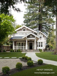 Dream house: Mill Valley Classic Cottage - craftsman - exterior - san francisco - Heydt Designs