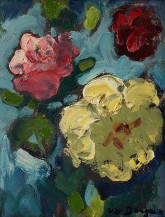 Kees van Dongen - Fleurs, nd.