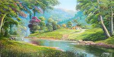 cuadros-de-paisajes-con-rio-al-oleo.jpg (1024×519)