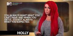 yep. Geordie shore. Holly. Quote