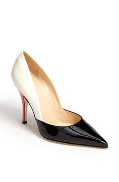 kate spade new york 'lottie' pump available at #Nordstrom i want these desperately -Michelle