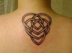 eb4a4684e Celtic heart knot Tattoo - 35+ Awesome Celtic tattoo Designs <3 <