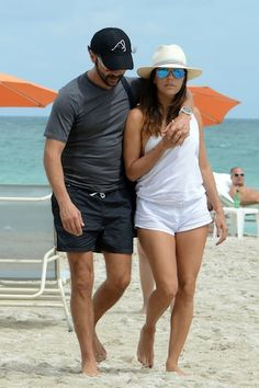 Eva Longoria cozies up to boyfriend of one year, Jose Antonio Baston, on a trip to Miami!