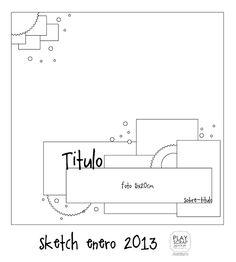 PLAY SCRAP-sketch Enero