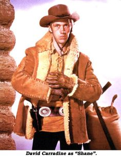 "ABC's short-lived ""Shane"" made a valiant effort at transferring the big screen movie hit of 1953 to the small TV screen, but David Carradine simply wasn't Alan Ladd and, basically, by 1966, westerns on TV were (unfortunately) not showing the strength they had in the early '60s."