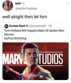 Read from the story Marvel Memes by TheOfficalBitch with reads. Funny Marvel Memes, Marvel Jokes, Dc Memes, Avengers Memes, Marvel Avengers, Marvel Comics, Tom Holland, Spiderman, Hulk