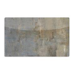 Kess InHouse CarolLynn Tice 'Overlooked' Gray Artistic Magnet