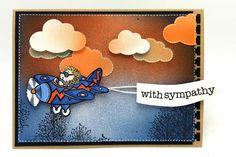 Hedgehopper Sympathy Card