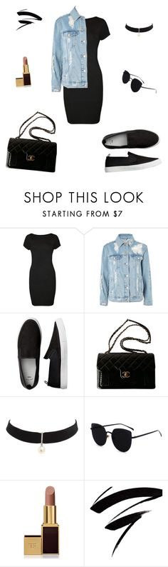 """""""Sin título #24"""" by tabby170 on Polyvore featuring moda, WearAll, Topshop, Chanel, Mateo y Tom Ford"""