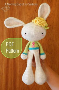 crochet bunny pattern... wonder if this could be made out of socks?