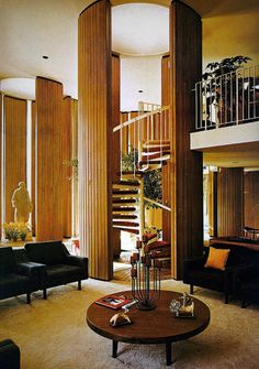 "ofhouses:  ""372. John Portman /// Entelechy I /// Buckhead, Atlanta, USA /// 1964  OfHouses guest curated by Nanne de Ru (Powerhouse Company):  ""Entelechy I was designed and built by the greatest architect/developer of the 20th century, John Portman...."