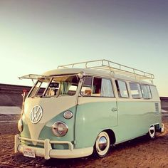 Kombi- ready to hit the road