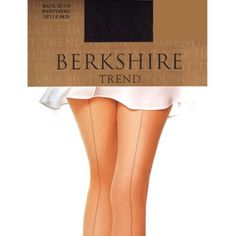The history of stockings and nylons with back seams, fully fashioned and fancy heel designs. Shop for vintage stockings, knee highs, nylons & tights. Nylons, Black Pantyhose, Black Tights, Sheer Tights, French Seam, Look Cool, Thigh Highs, Knee Highs, Hosiery