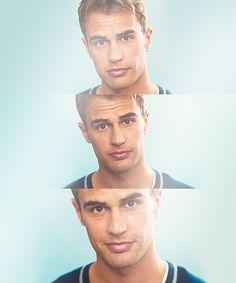 Theo James is so adorable. Four/Tobias ❤️❤️❤️❤️❤️❤️❤️❤️❤️❤️❤️❤️❤️❤️I Theo James