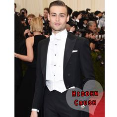 Our Hidden Crush this week is Douglas Booth, who looked charming at the MET Ball in NYC x #douglasbooth #hiddencrush #style #trend #hiddenfashion
