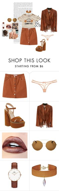 """any remedys for heartache?"" by afbdzjm ❤ liked on Polyvore featuring Agent Provocateur, Office, Spell, Givenchy, Daniel Wellington and Vanessa Mooney"