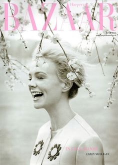 Carey Mulligan Covers UK Harpers Bazaar: The Prettiest Cover Ever? - YES