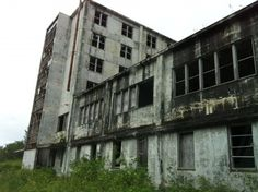 Old empty military base up in Whittier AK