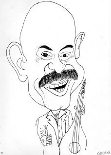 CARICATURAS DELBOY: OSCAR DE LEON