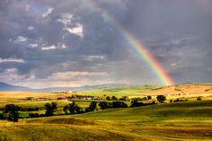 rainbow | Flickr - Photo Sharing! #landscape #rainbow