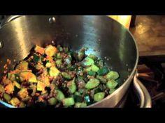 Spinach & Zucchini Soup