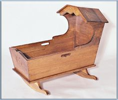 Wood Bassinet Plans | Do Kit – Pre-Cut Woodworking Projects