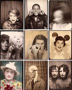 vintage photobooth.