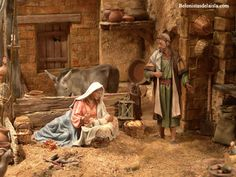 emilio m belenista Christmas Nativity Scene, Christmas Carol, Nativity Sets, Jesus Faith, Free To Use Images, Miniature Rooms, Roman Catholic, Diorama, Christmas Decorations