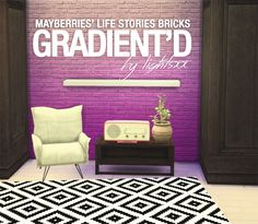 Maxis Match CC for The Sims 4 • lightsxxx: 2t4 MAYBERRIES LIFESTORIES BRICKS,...