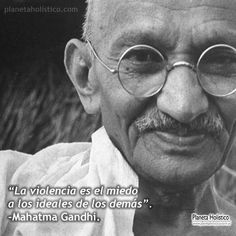 Gandhi, un símbolo de la paz universal...