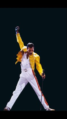 Freddie Mercury thought we were too awesome for just a thumb up.