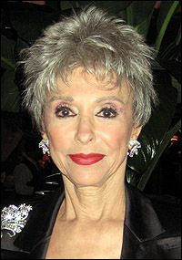 Rita Morena at age 81  Wow, I would LOVE to look like this when I am 81.  She has allowed her hair to look very natural.  I like the combo of pixie cut and almost curls that frame her face.  The spikes throughout give body to the whole and are quite trendy as well.
