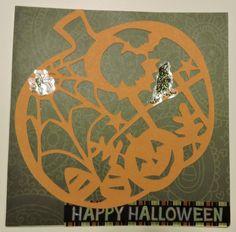 Silhouette Cameo: Halloween pumpkin cutout