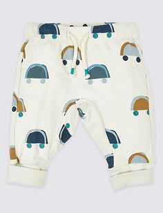 Shop this Organic Cotton Car Print Joggers at Marks & Spencer. Browse more styles at Marks & Spencer US Toddler Outfits, Boy Outfits, Body Suit Outfits, Line Shopping, Summer Trends, Shirt Shop, Clothes For Sale, Joggers, Organic Cotton