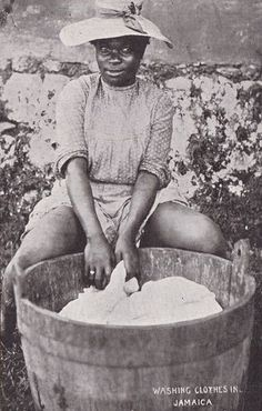 Jamaican Lady - early 1900's