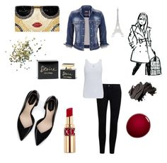 """Paris"" by hayatben on Polyvore featuring Alice + Olivia, Zara, maurices, Majestic, Yves Saint Laurent, NARS Cosmetics, Dolce&Gabbana, Topshop, Bobbi Brown Cosmetics and Merci Gustave!"