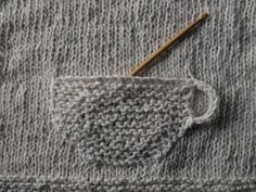 Teacup Pocket | 19 Impossibly Clever Knitting And Crochet Patterns