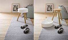 stołek do łazienki w japońskim stylu
